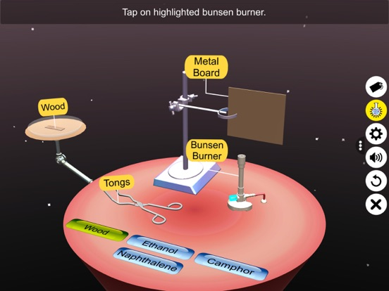 Combustion of Carbon Compounds screenshot 11