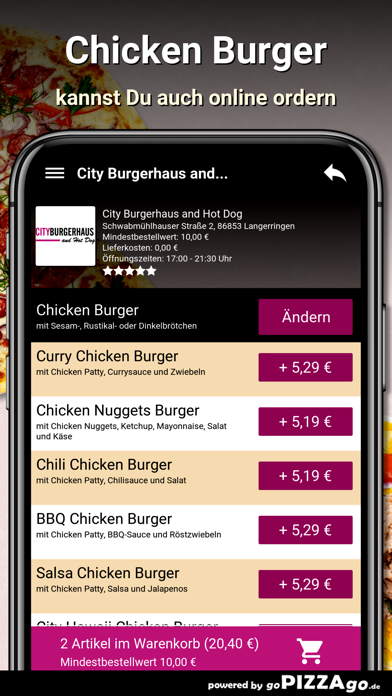 City Burgerhaus and Hot Dog screenshot 5