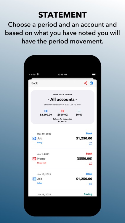 In and Out Essential CashBook screenshot-8