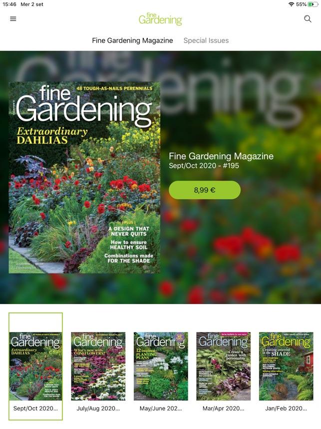 Fine Gardening Magazine On The App Store
