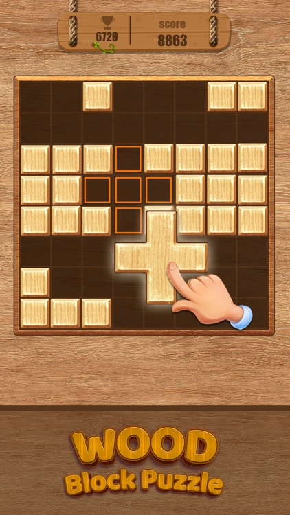 Wood Block Puzzle Classic Game screenshot-3