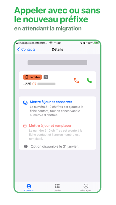 Contacts CI
