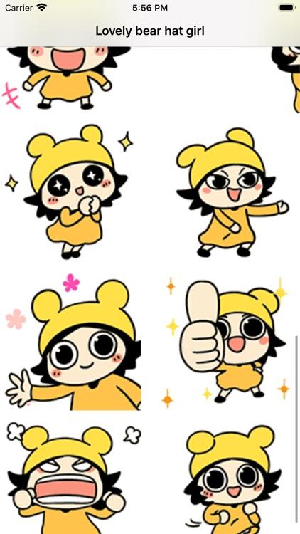 Bear hat girl