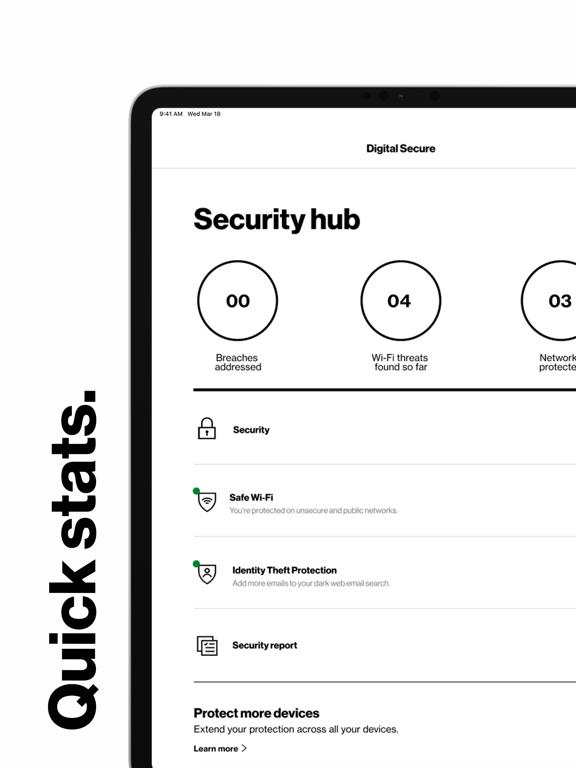 iPad Image of Digital Secure