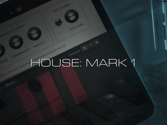 HOUSE: Mark I iPad app afbeelding 1