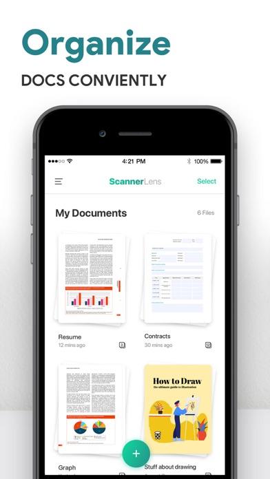 ScannerLens Pro  PDF scannerScreenshot von 6