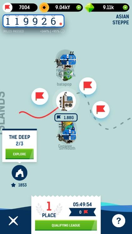 Idle Submarine: Raft to Boat screenshot-3