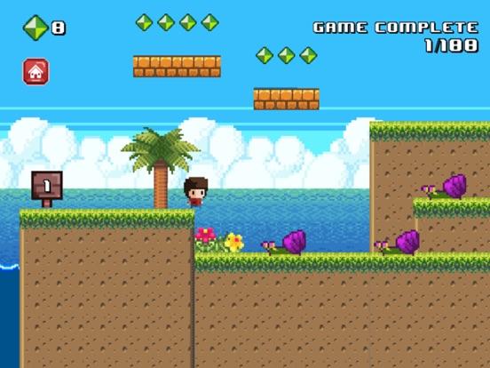 8 Bit Kid - Jumping World screenshot 7
