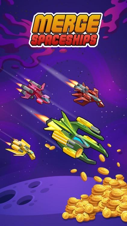 Merge Spaceships - Idle Game screenshot-4