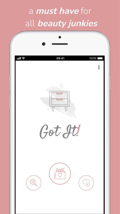 Got It! - Cosmetics screenshot 1