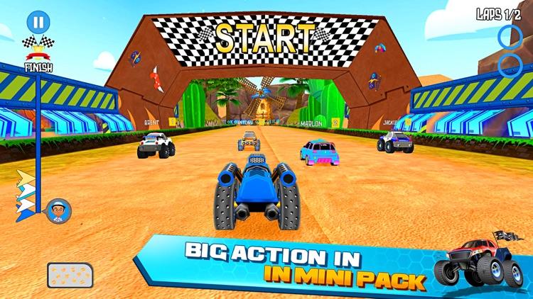 Mini Car Race Legends screenshot-3