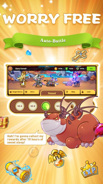 Idle Heroes - Idle Games screenshot-1