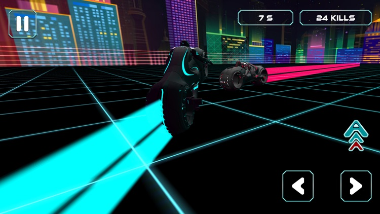 Neon Race - Light Bike Race screenshot-3