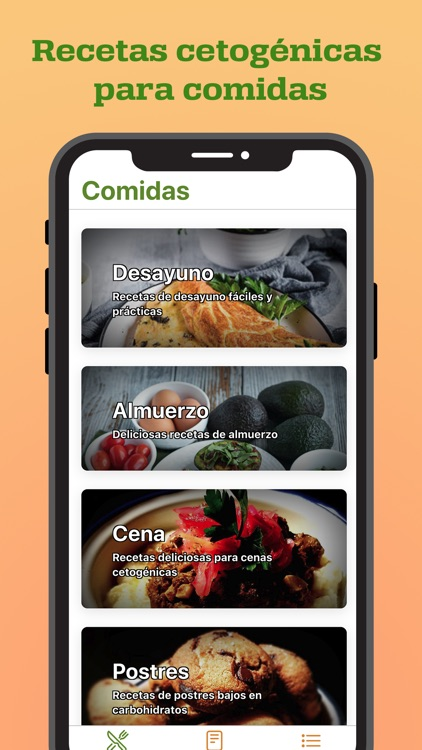 Recetas Cetogénicas screenshot-3