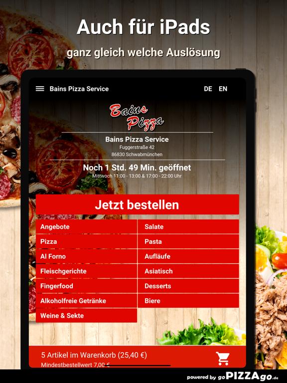 Bains Pizza Schwabmünchen screenshot 8