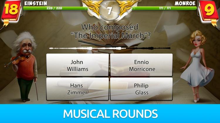 Battle of Geniuses: Quiz Game screenshot-4