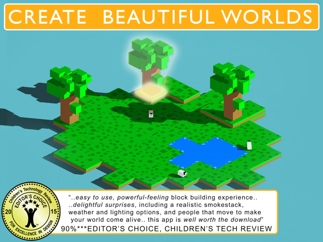 ‎Blox 3D World Creator Screenshot