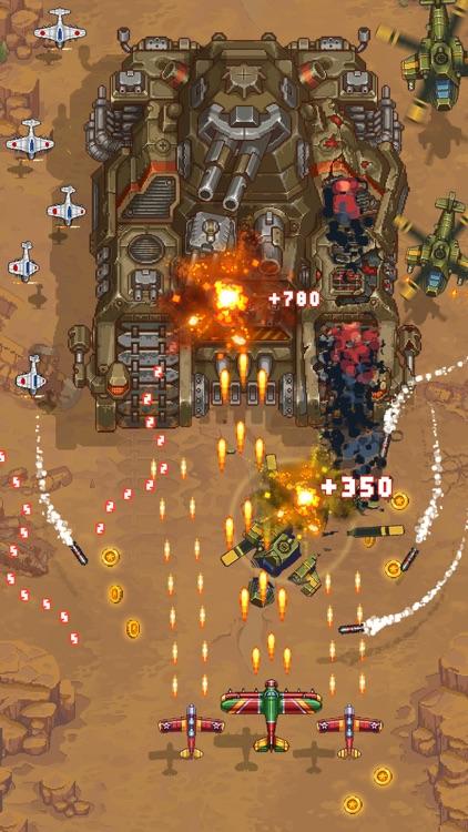 1945 - Airplane shooting games screenshot-3