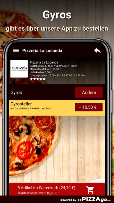 Pizzeria La Locanda Oberhausen screenshot 6