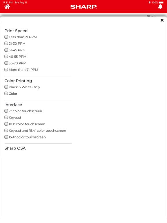 Sharp Configurator screenshot 14