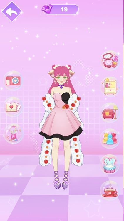 Star Girl Anime Dress Up