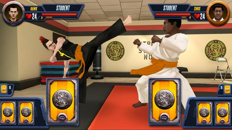 Cobra Kai: Card Fighter screenshot-6