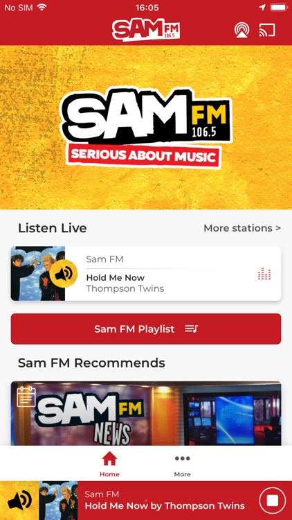Sam FM – We're In Charge