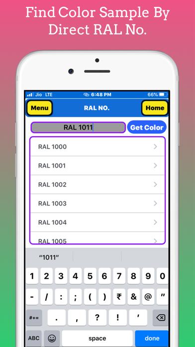 Paint RAL No screenshot 4