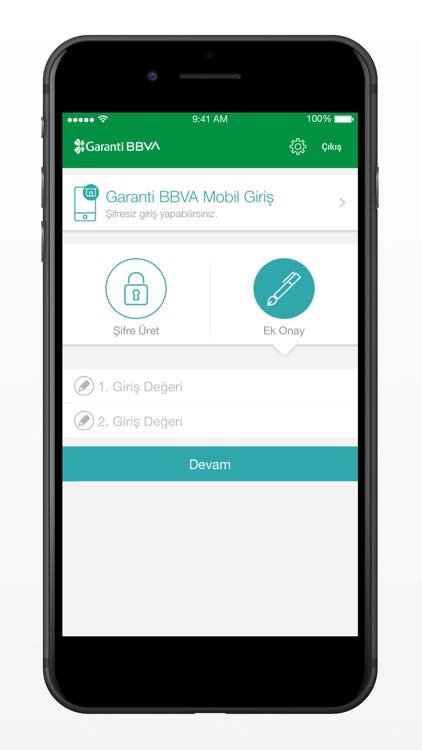 Garanti BBVA Cep Şifrematik screenshot-3