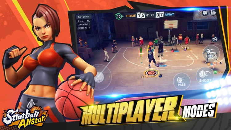 Streetball Allstar:3v3 eSports screenshot-4
