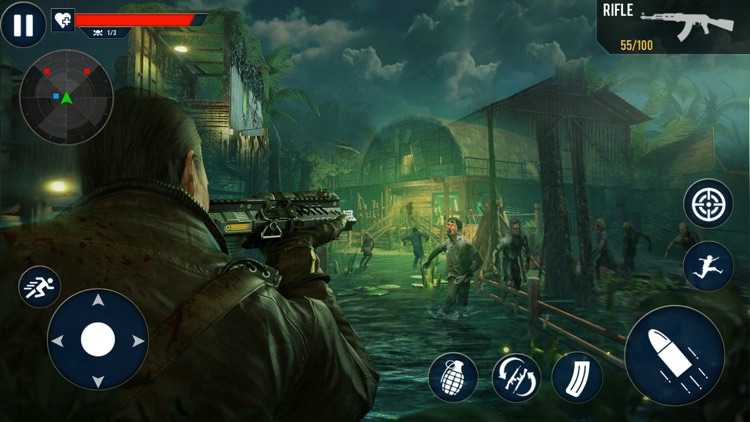 Modern Zombie Shooter 3D screenshot-3