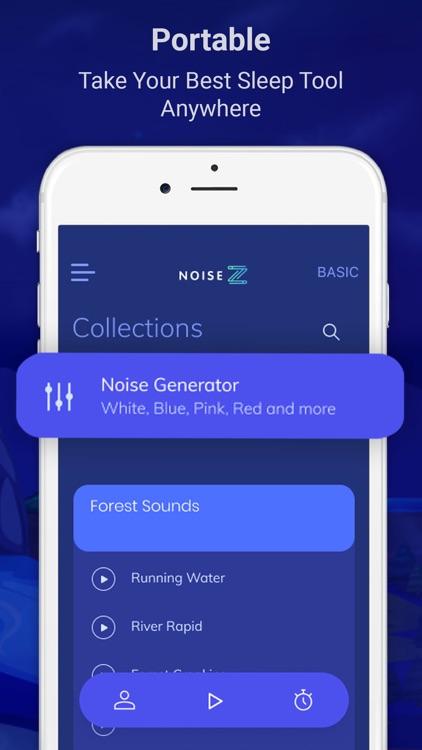 NoiseZ: Soothing Sleep Sounds screenshot-4