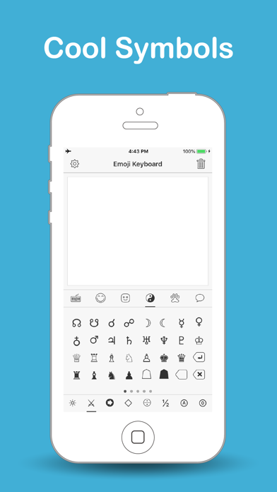 カラー絵文字 - 特殊文字記号・顔文字入力法のおすすめ画像3