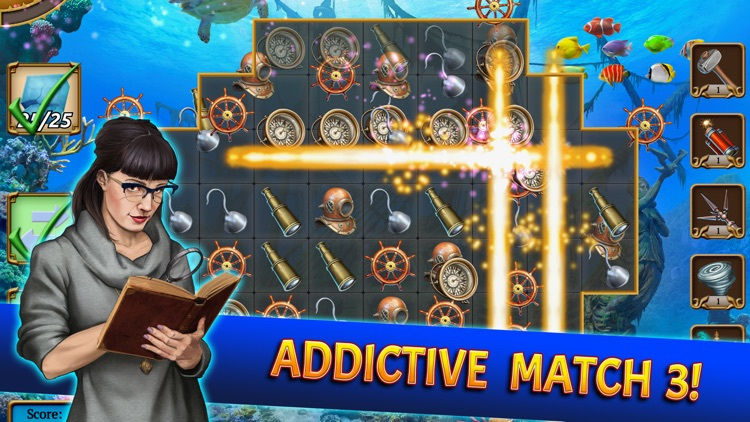 Treasure Match 3 Mystery Games screenshot-0