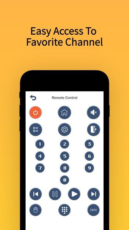Tv Remote Control For Smart ® screenshot-3