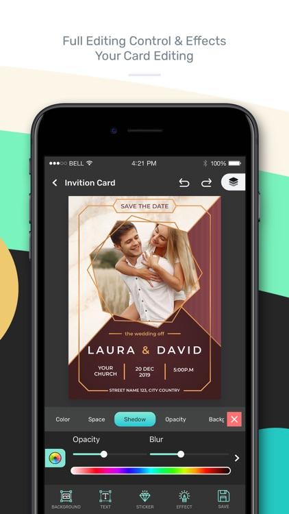 Invitation Maker : Card Maker screenshot-5