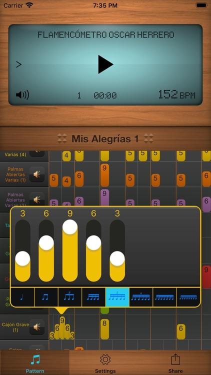 Flamencómetro Oscar Herrero screenshot-5