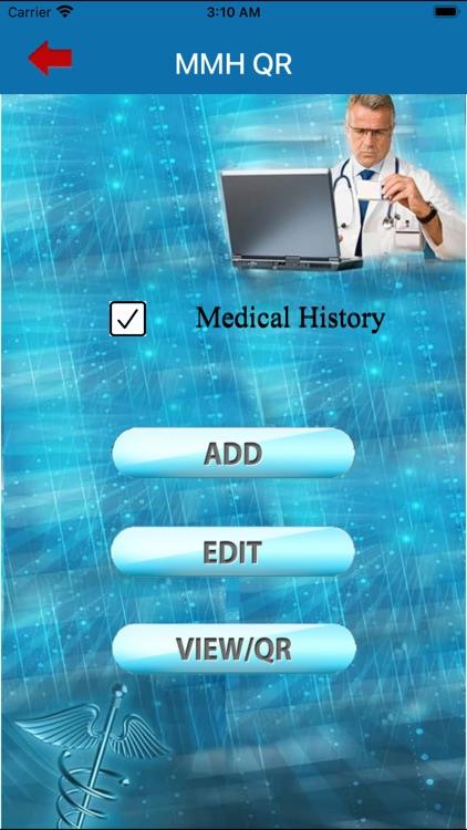 My Medical History - QR