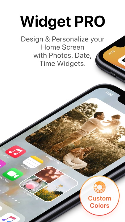 Widgets PRO - Photo Time Color screenshot-0