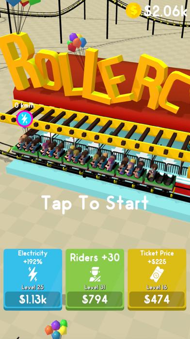 Hyper Roller Coaster screenshot 4