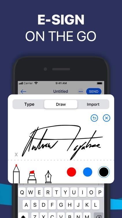 Fill PDF Editor, Signature app