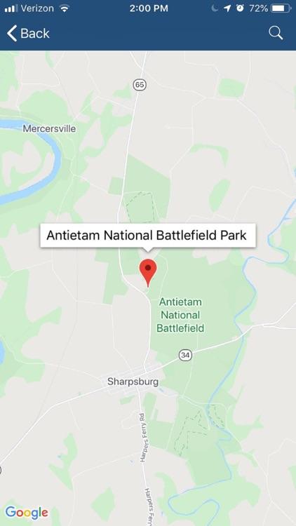 Maryland Civil War Trails screenshot-4