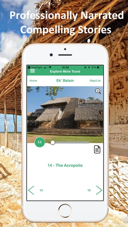 Ek Balam Cancun Mexico Tour screenshot-3