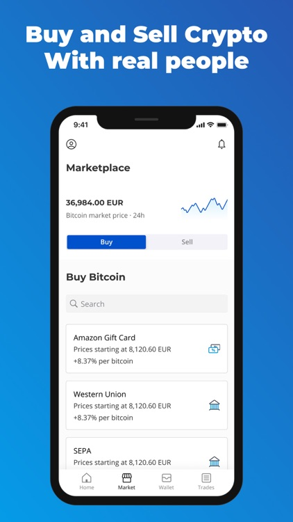 Paxful Bitcoin Wallet screenshot-1