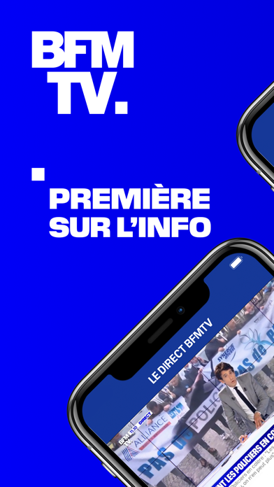 BFMTV - Première sur l'info