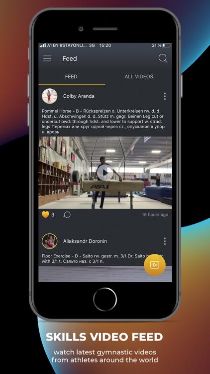 GYMES - app for gymnastics screenshot-3