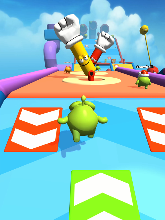 Om Nom Racing screenshot 6