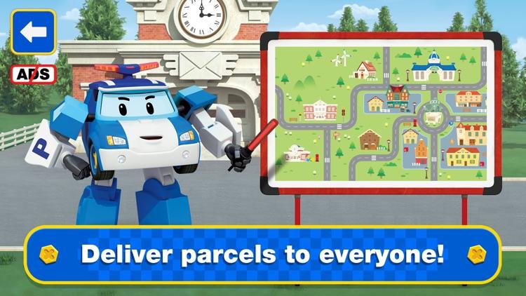 Robocar Poli Postman Games! screenshot-4