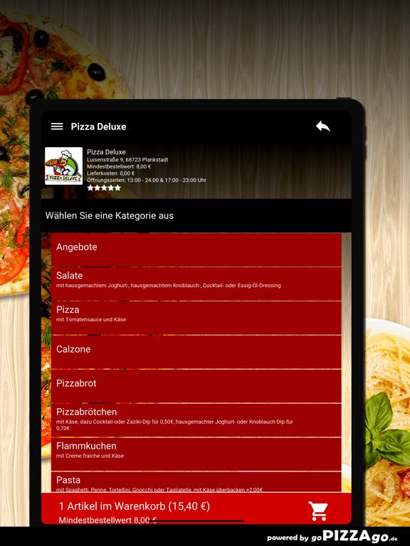 Pizza Deluxe Plankstadt screenshot 8