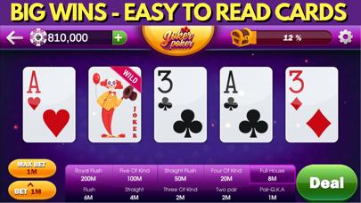 Video Poker Casino Games screenshot #3